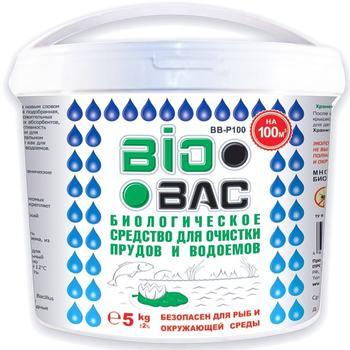 ♻️ BIOBAC - Биопрепарат для очистки прудов 5 кг (100 м3)