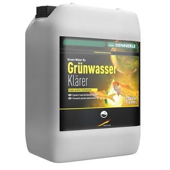 Средство против всех водорослей в садовых прудах - Dennerle Green Water Ex - 3 л. (на 60000 л)