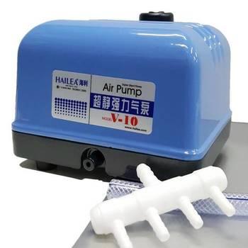 Аэратор малошумный - HAILEA SUPER V-10 - 10л/мин