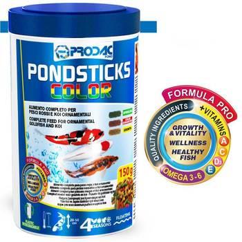 PRODAC Pond Sticks Color (Плавающие гранулы) - 1 л (Пакет)