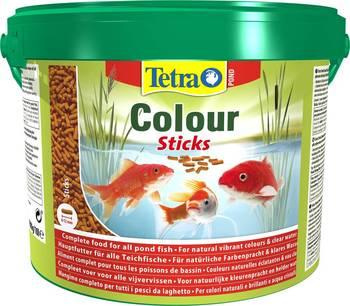 Tetra Pond COLOUR STICKS 10 Л - Усиление окраса