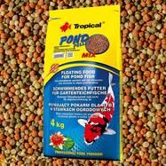 Tropical pond pellet mix - 50 л - плавающие шарики