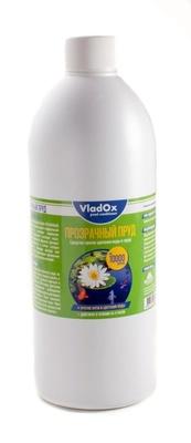 ⚡ VladOx Прозрачный пруд. Препарат для очистки водоёма до 10 м³